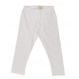 Leggings neonata bianco