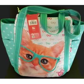 Borsa large Studio Pets gatto