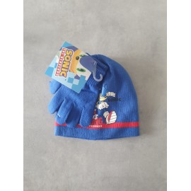 Set guanti + cappello Sonic